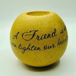 Other - Tea Light Candle Holder Friend Quote Gift  decor